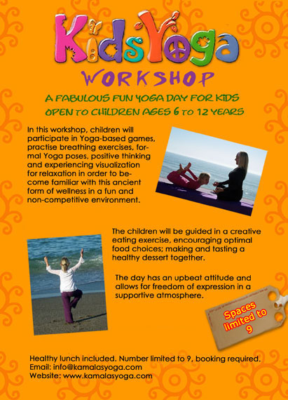 A Fun Non Competitive Way For Kids To Gain The Many Benefits Of Yoga In Early Life Is Natural Exercise Relax And Focus